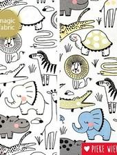 Magic fabric Jersey baby safari