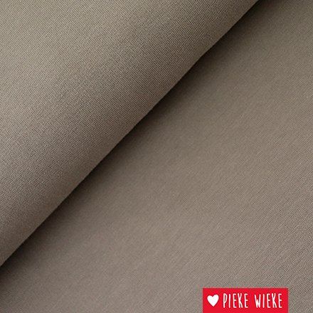 lillestoff French terry effen taupe
