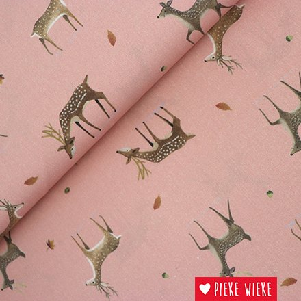 Cotton Deer pink