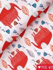 Windham Fabrics Cotton Painted jungle Elephant