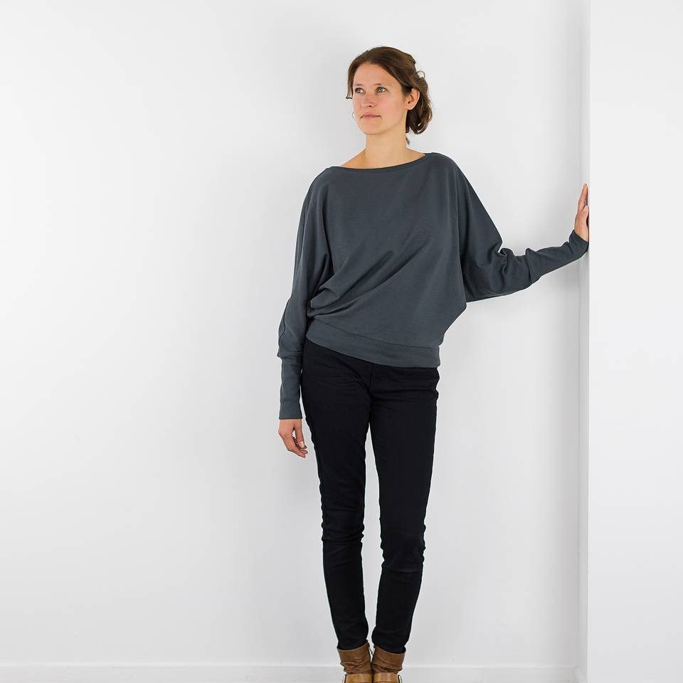 Lodi sweater, een sweaterpatroon op jouw maat gemaakt.
