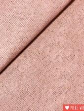 Glitterboordstof poeder roze - rosé