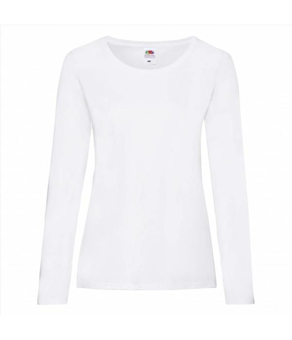 Fruit of the Loom dames longsleeve shirt