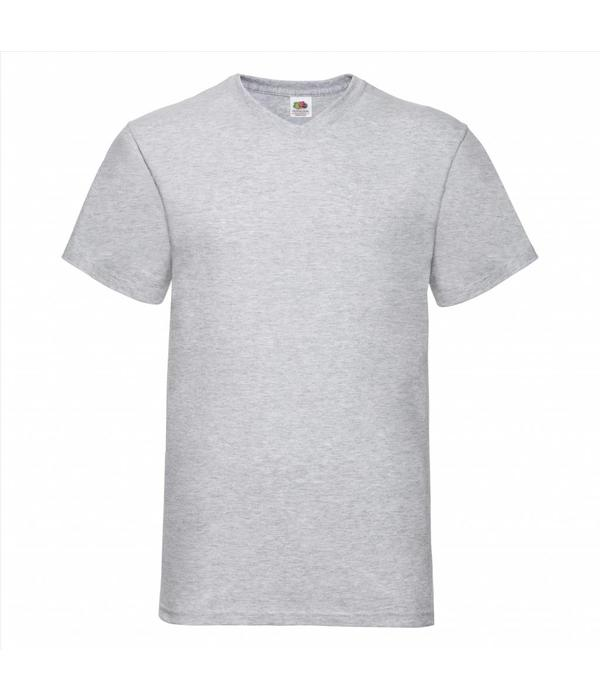 Fruit of the Loom 5 pack witte V-hals T-shirts