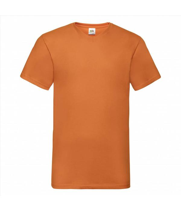 Fruit of the Loom 2 pack witte ronde hals Valueweight T-shirts