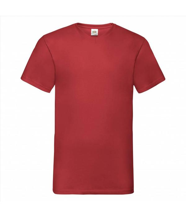 Fruit of the Loom 12 pack witte V-hals T-shirts