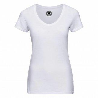 Russell Damen T-shirt v-ausschnitt