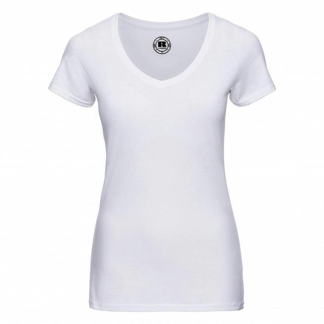Russell dames t-shirt v-hals