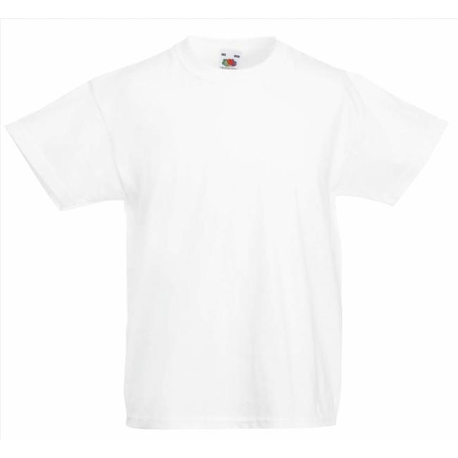 Fruit of the Loom Jongens t-shirts 12 pack Original T