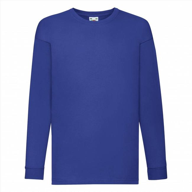 Fruit of the Loom Jongens longsleeve T-shirt