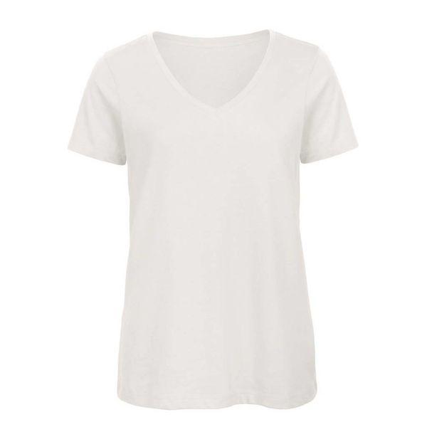 Basic dames t-shirt v-hals