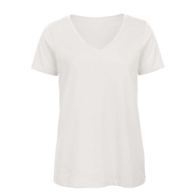 B&C Basic damen t-shirt v-ausschnitt