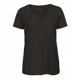 B&C Basic dames t-shirt v-hals