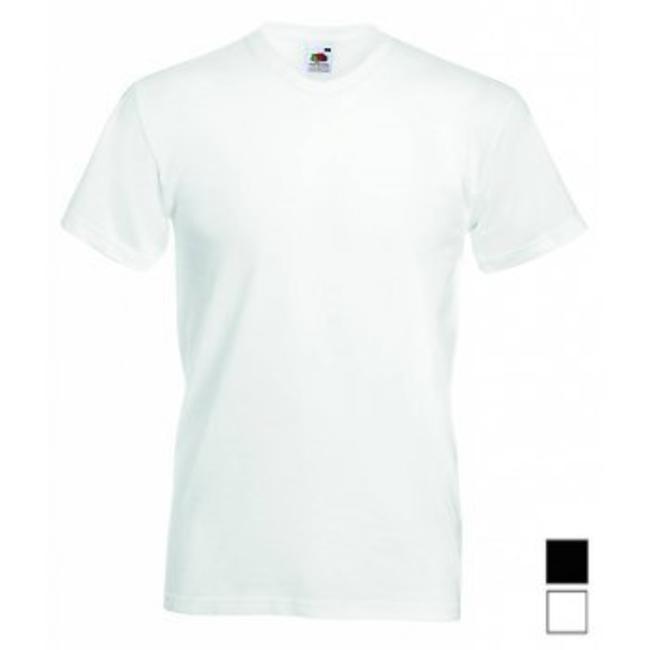 Fruit of the Loom 24er-pack T-shirts V-AUSSCHNITT