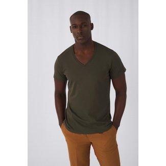 B&C Basic meine Herren t-shirt v-ausschnitt