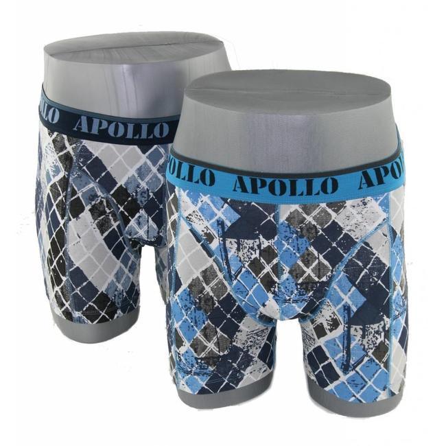 Apollo Underwear 2-pack blauw & grijs