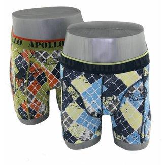 Apollo Underwear 2-pack groen & blauw