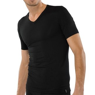 Schiesser T-Shirt mit V-Ausschnitt