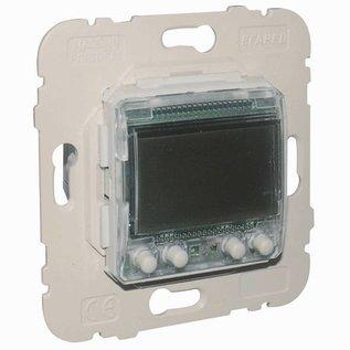 Efapel Inb.tijdschakelaar digitaal 6A + 6A 2 circuits