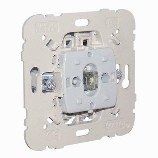 Efapel Inb.twee polige schakelaar controle lamp