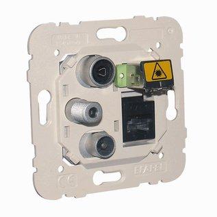 Efapel Inb.wcd R-TV-SAT-RJ45 cat 6 utp- FO- SC-APC