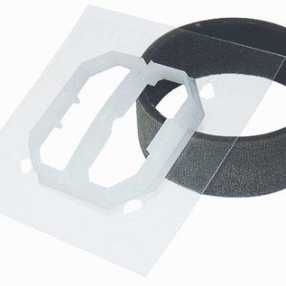 Efapel Kit ip44 tbv dubbele schakelaar