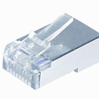 Efapel RJ45 steker 8(8)polig krimp afgeschermd