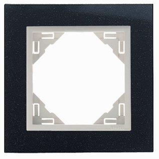 Efapel Petra afdekr. 1 voudig graniet/parel