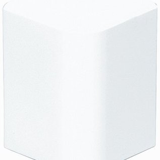 Efapel Buitenhoek minikanaal wit B16mm-H10mm