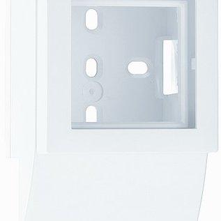 Efapel Zij-adapter minikanaal wit B32mm-H16mm