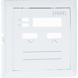 Efapel Cpl. rolluikmodule 21312 aluminium
