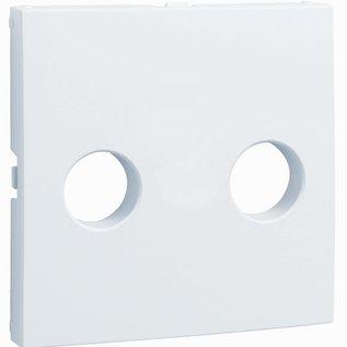 Efapel Cpl luidsprekeraansluiting 2-voudig aluminium