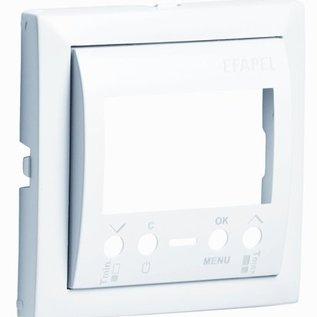Efapel Cpl thermostaat programmeerbaar aluminium
