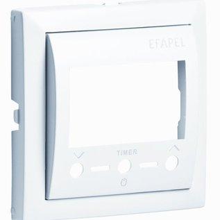 Efapel Cpl thermostaat i.c.m. Infrarood afstandsbediening d grijs