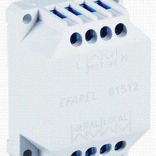 Efapel Compon.Relais jalouziebediening tijdvertraging 230vac/5hz./6A