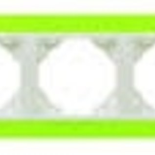 Efapel Animato afdekr. 3 voudig groen/wit