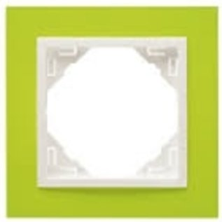 Efapel Animato afdekr. 1 voudig groen/wit