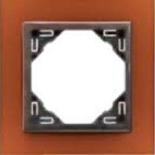 Efapel Animato afdekr. 1 voudig d oranje/d grijs