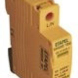 Efapel Oversp.-230/320V-Geel-1P-20Ka-1mod.