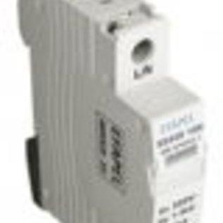 Efapel Oversp.-230/320V-Wit-1P-40Ka-1mod.