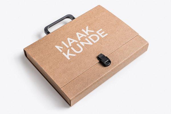 NEMO Science Museum Amsterdam kiest voor Klapr Kraft koffer met bedrukking