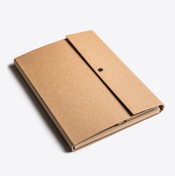 Conference folder Kraft