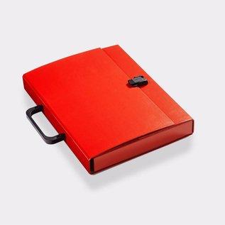 Klapr Briefcase A4 30 mm Red