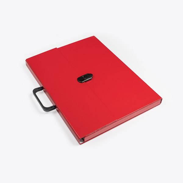 Briefcase A3 Red