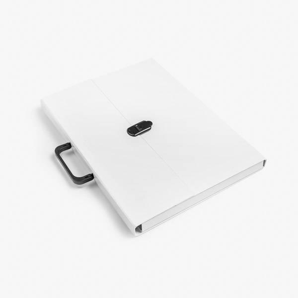 Briefcase A3 White