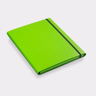 Klapr Luxe elastomap A4 10 mm groen
