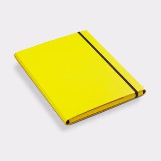Klapr Luxe elastomap A4 10 mm geel