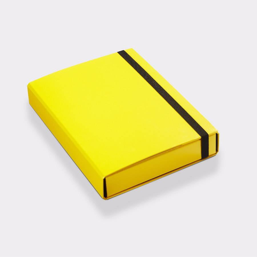 Opbergbox A4 50 mm geel