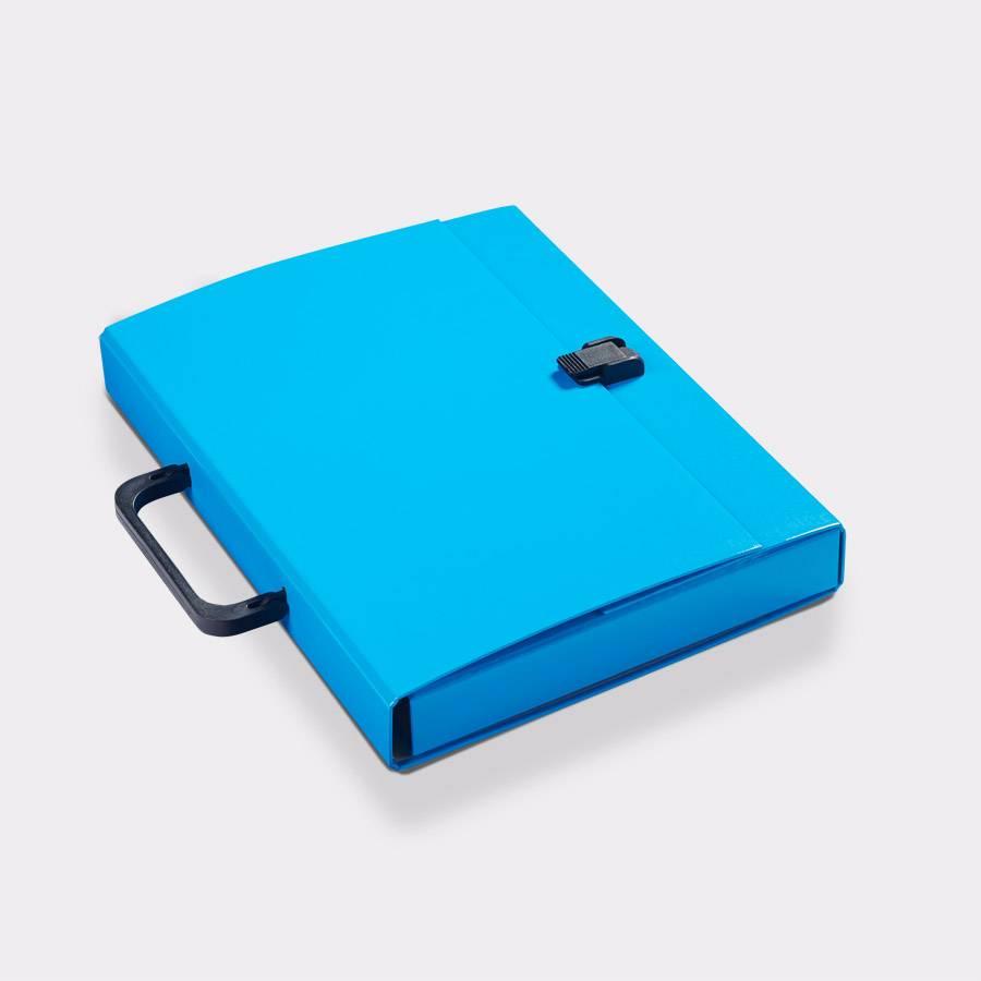 Briefcase A4 Blue