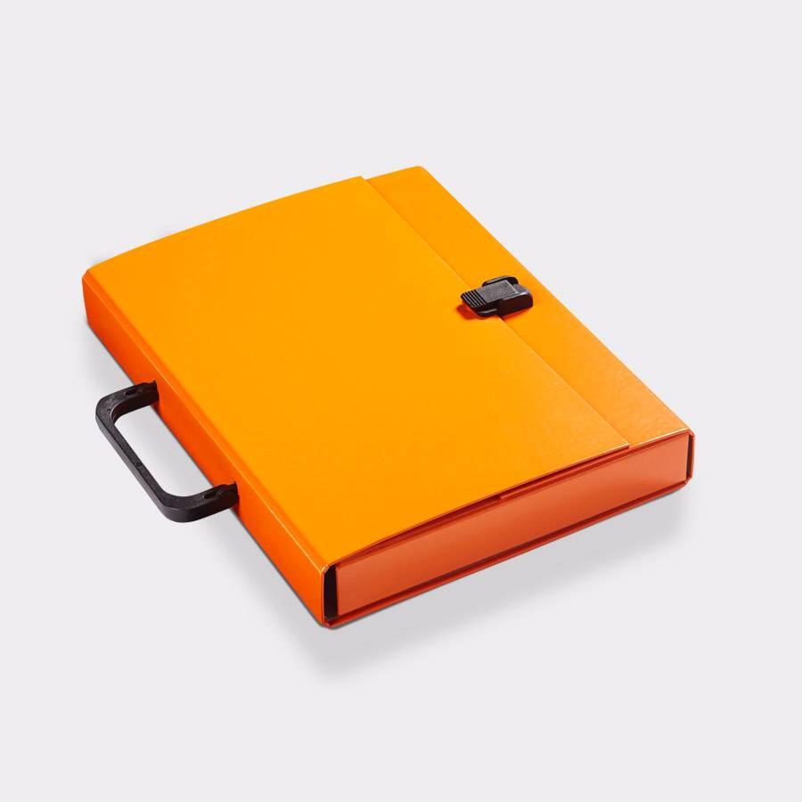 Koffer A4 Oranje